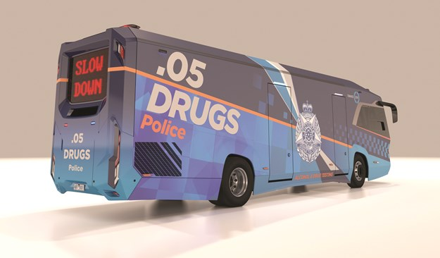 DO THE RIGHT THING! VICPOL ADT BBW-IVECO 'BOOZE BUS'