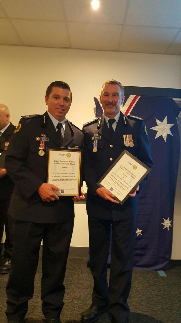 Paul Burg recognised for his SES volunteering by Rotary.jpg