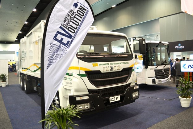 Iveco electric waste truck