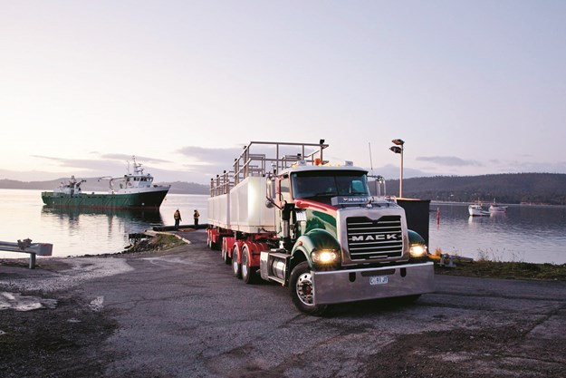 De Bruyn's truck and vessel servicing the aquaculture industry.jpg