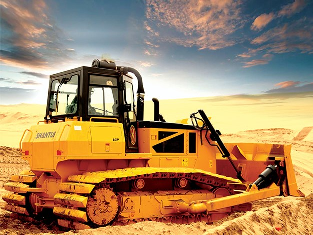 Shantui dozers full-hydraulic range currently cover the 80 to 900hp segment