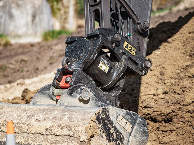 The new latch is cast from Bisalloy reinforced wear-resistant steel
