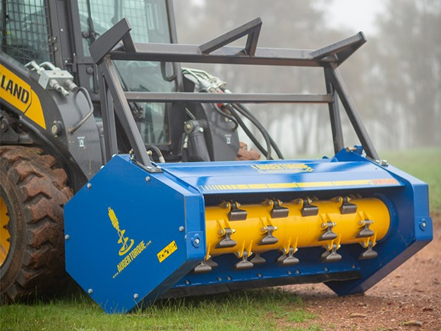 The variable mulcher range has a working width of up to 1.5m