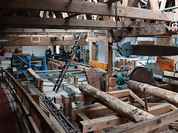 A slice of the timber industry history in NZ