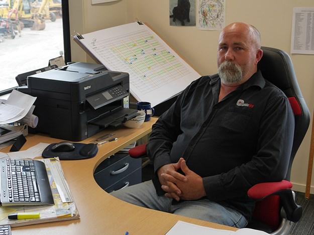 Magnum Hire general manager Dave Parker