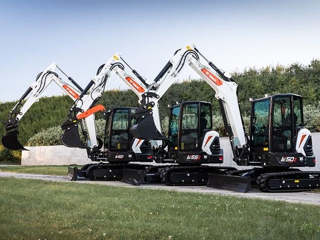 Bobcat's new R2-Series generation of five- to six-tonne Stage V compliant mini-excavators