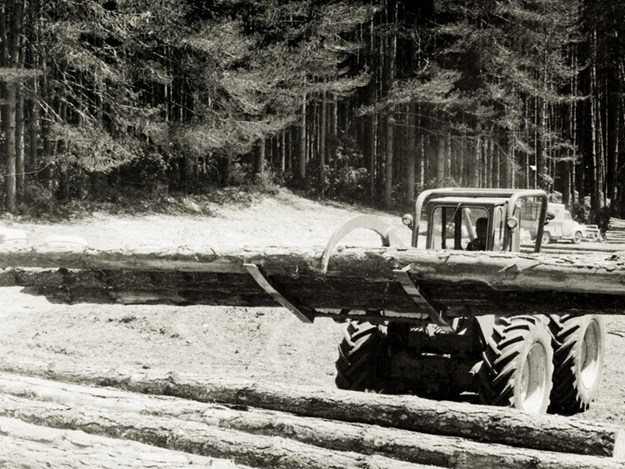 Ron and Bruce helped shape a part of the forestry industry