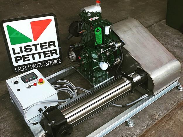 Irrigation pump from Lister Petter