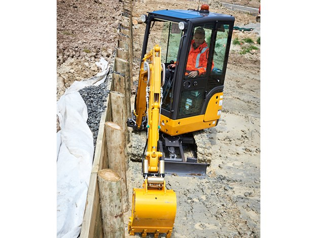 Kato mini excavators feature industry-leading digging depth, dump height, reach, and breakout force