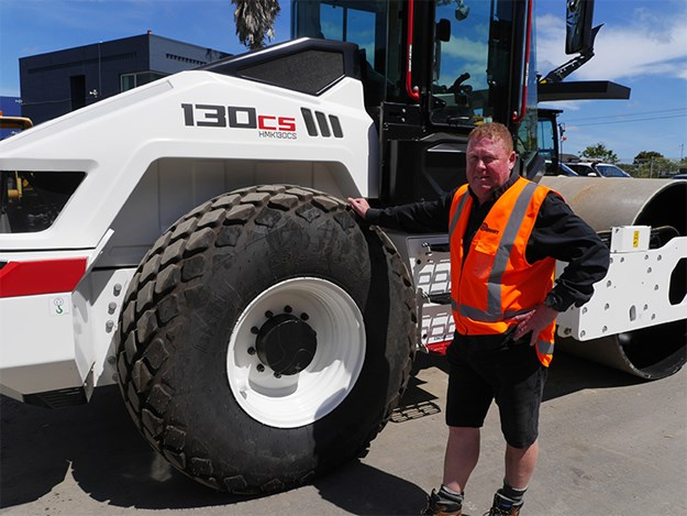 Magnum Equipment founder and director Liam Field