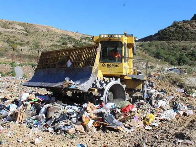 BOMAG compactors are built  specifically for processing refuse