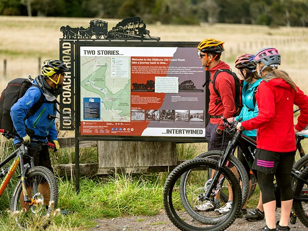 Biking-the-Ohakune-Old-COach-Road