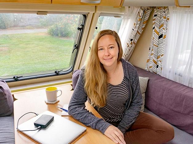 mcdnz uk caravan adventure Karen Nisbet Inside Caravan 1.jpg