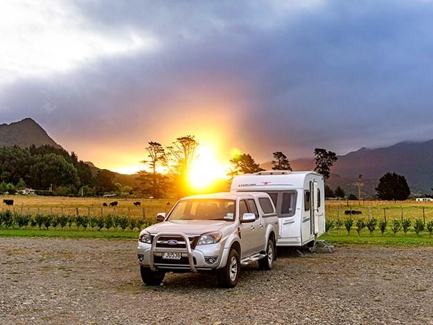 mcdnz uk caravan adventure Te-Aroha-Caravan-Setting-Sun.jpg