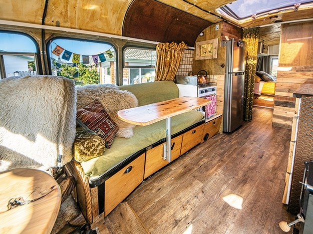 the magic school bus Carl and Justine did an amazing job turn the bus into a home.jpg