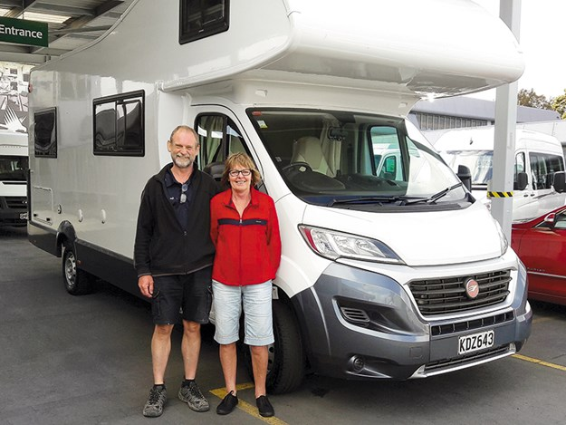 Living in their home on wheels is far more affordable