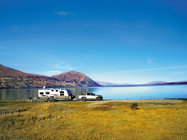 Round Bush Reserve DoC Camp embraces all the beauty, majesty and seclusion of Lake Ohau in the Mackenzie Basin
