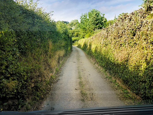 England's narrow country lanes make size a key consideration when choosing a motorhome for travel in the UK