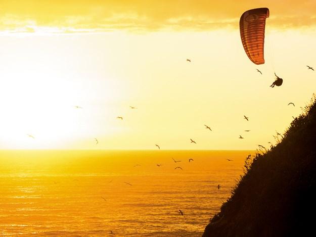Neighbouring Maori Bay is popular with paraglieders.jpg