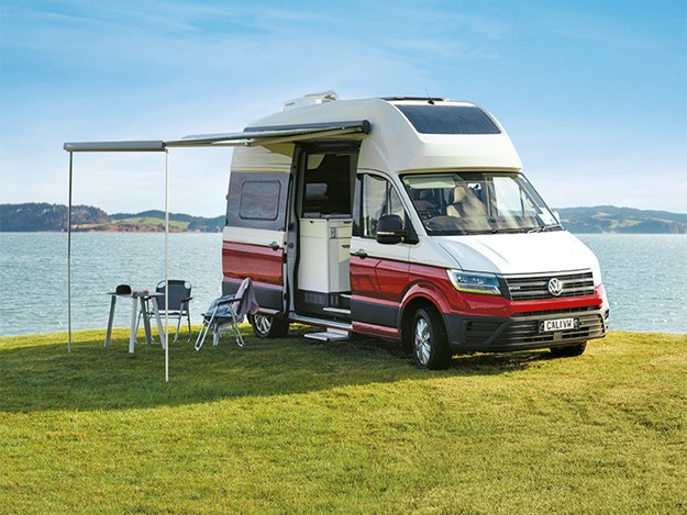 The Grand California is based on the VW Crafter