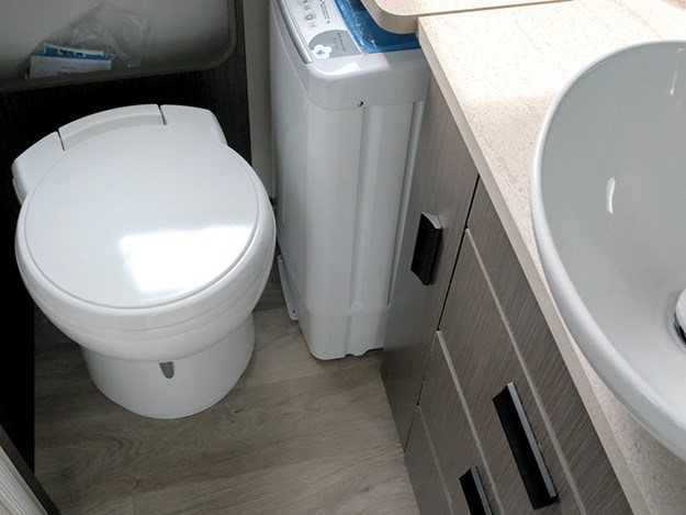 Jayco conquest toilet bathroom
