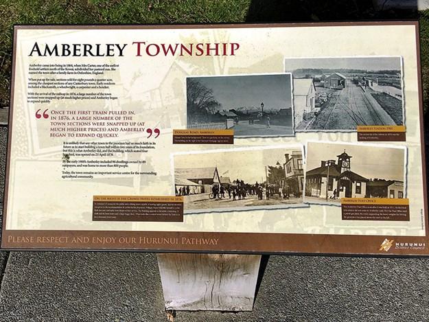 Amberley town