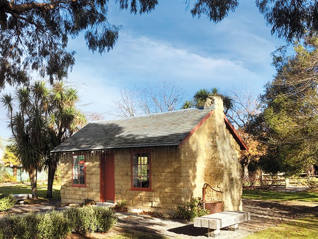 historic cob cottage, Chamberlain Park.jpg