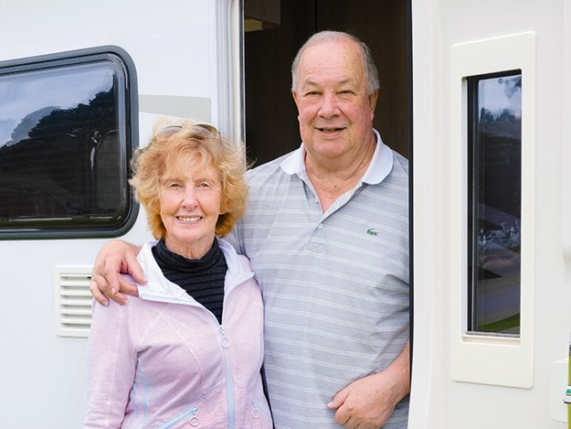Sue and John Skeen  - now committed motorhomers after a shaky start.jpg