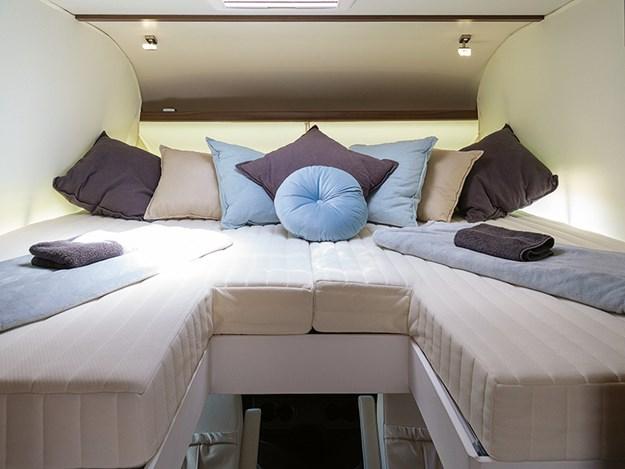 Frankia platin double bed
