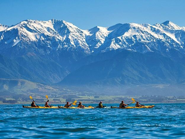 sea kayaking kaikoura