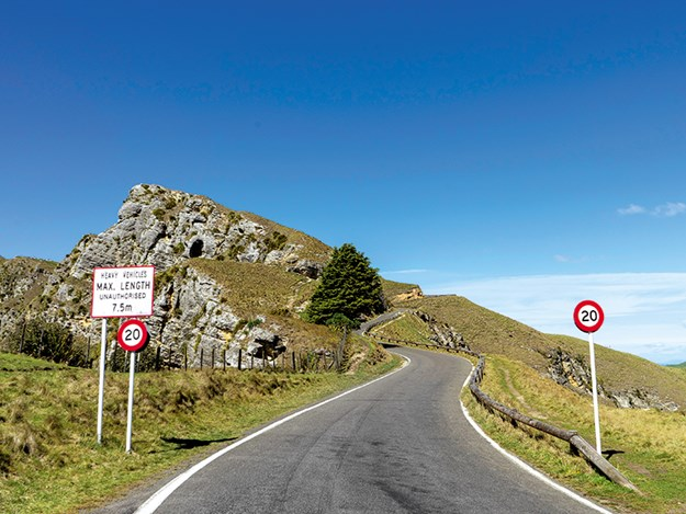 Te Mata Peak road