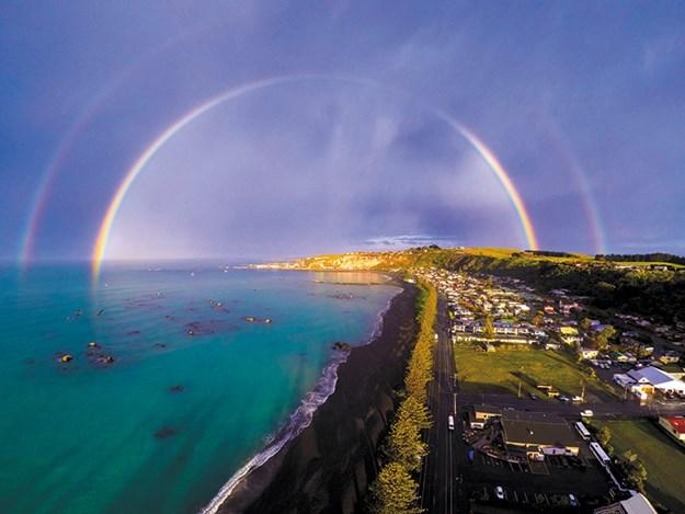 Kaikoura rainbow