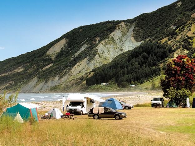 reedom Camping Tokomaru Bay