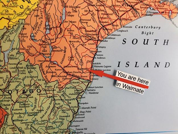 Waimate map