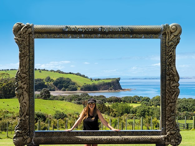 The 'picture frame' is a tourist favourite