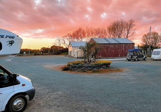 Whelan_7 Sunset at the Dargaville NZMCA Park.jpg