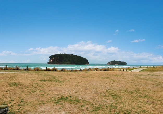 It was overcast when we showed Pat the iconic islands at Whangamata.jpg