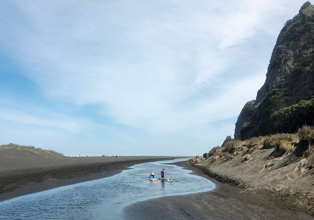 Piha is a popular place for families and surfers.jpg