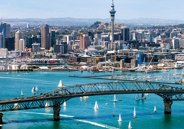 The beautiful Auckland Harbour
