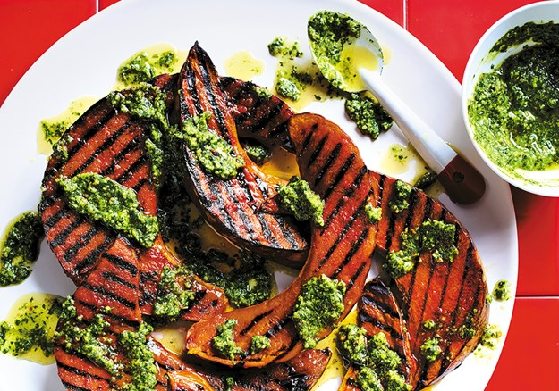 VERY GOOD VEG  _ Pumpkin Wedges with Pine Nut Pesto  110276 1.jpg