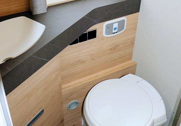 Dethleffs esprit bathroom