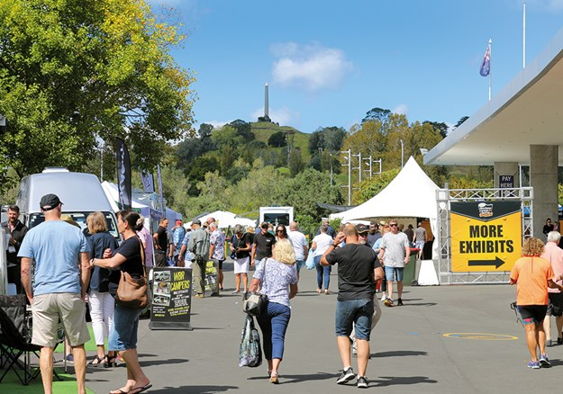 Auckland put on a great weekend of sunshine for the show.jpg