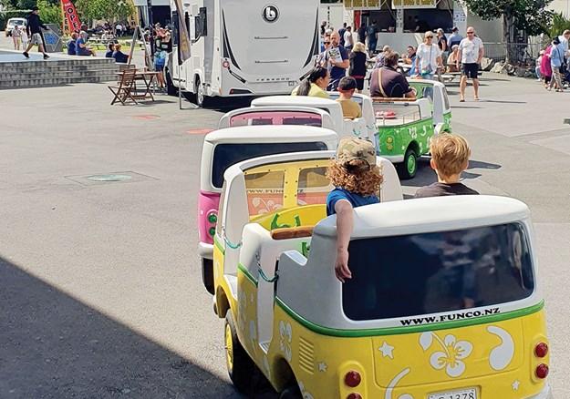 Kiddies enjoying a ride around the showgrounds.jpg