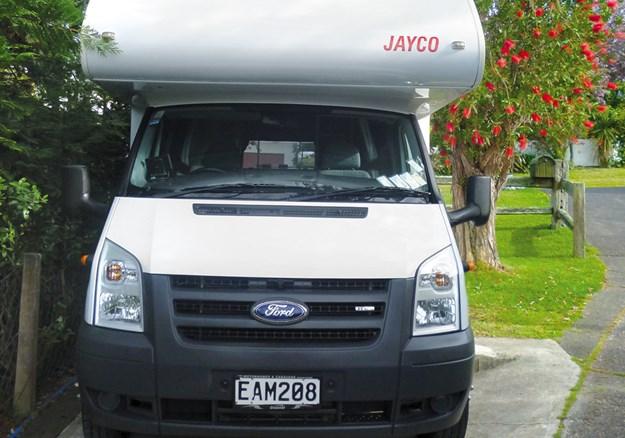 2008 The practical  Jayco Jayco P1010547.jpg