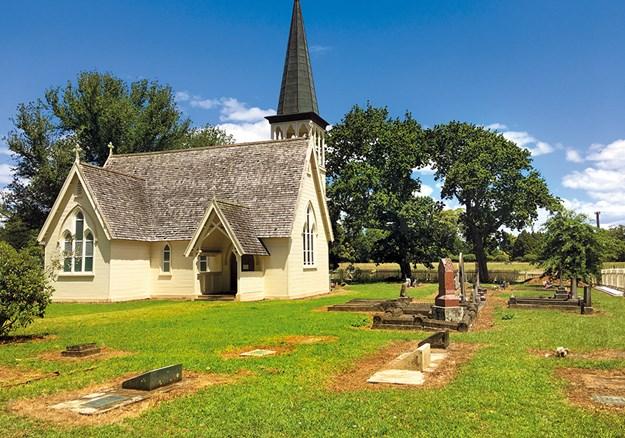Missionary Henry Williams built the Holy Trinity Church, at Pakaraka.jpg