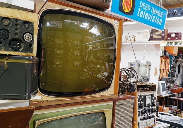 Flashback to 1960s television sets