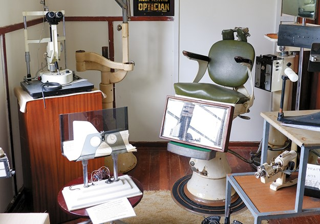An optician's tools of trade