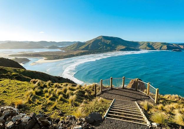 Allan's Beach – wild but beautiful