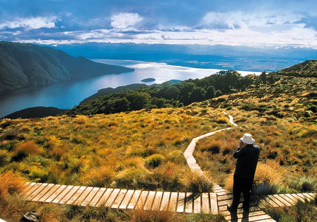 Taking in the views from the Kepler Track