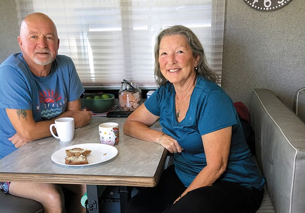 Elaine and Owen have decided to live permanently on the road